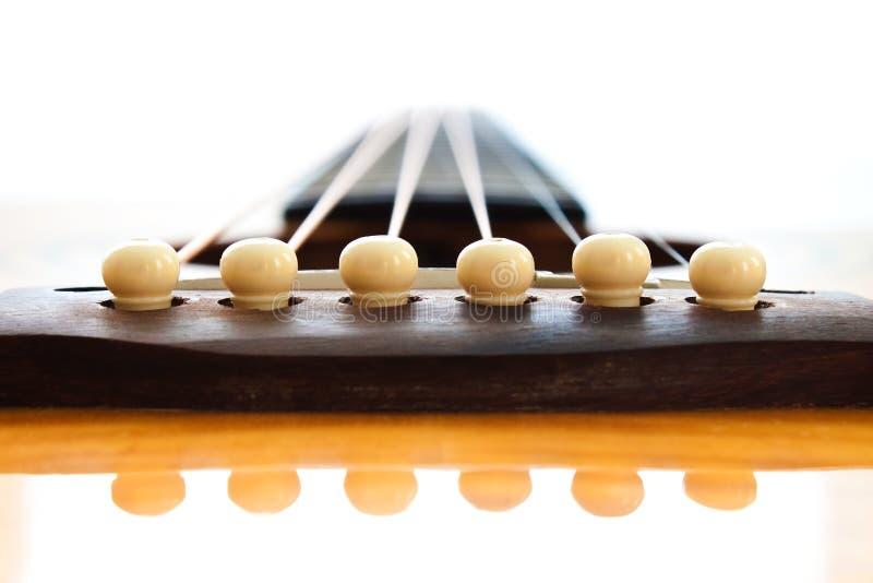 Puente de la guitarra fotografía de archivo libre de regalías