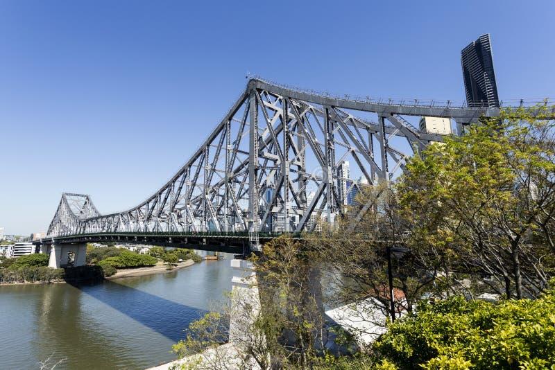 Puente de la historia de Brisbane fotografía de archivo