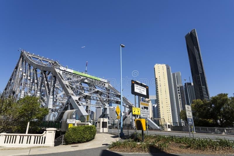 Puente de la historia de Brisbane fotos de archivo