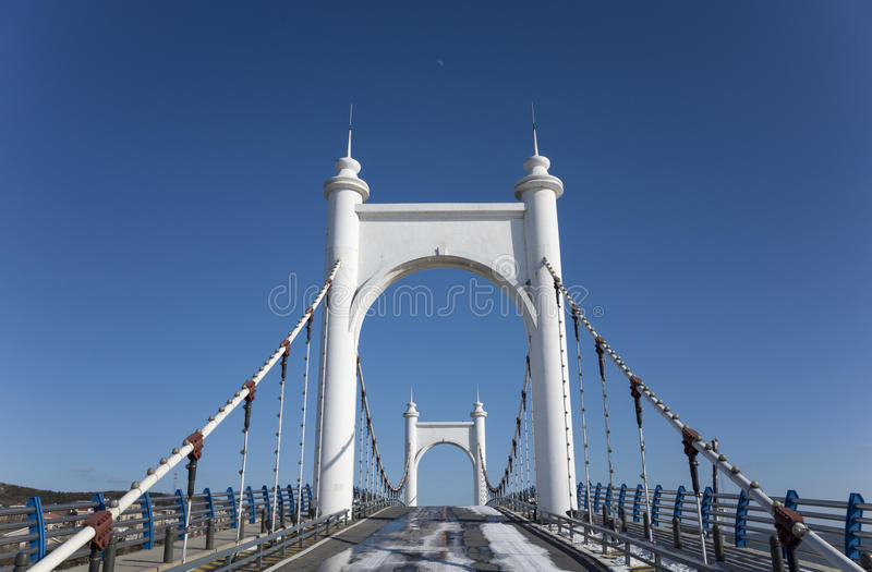 Puente de la honda imagenes de archivo