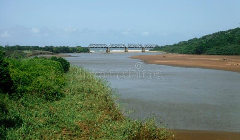 Puente de la laguna fotos de archivo