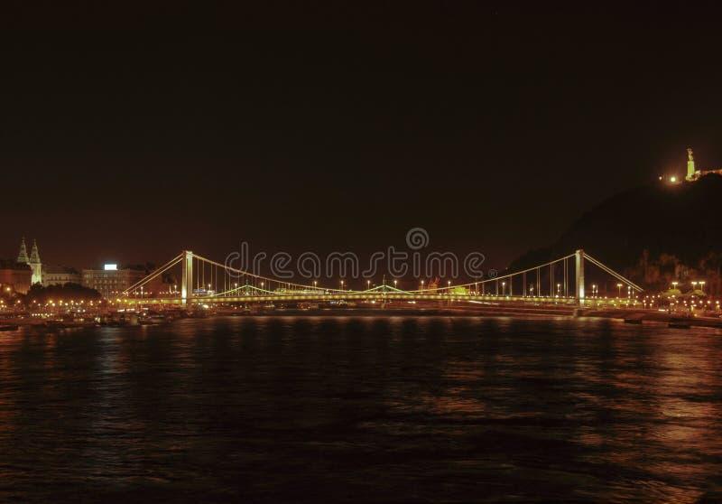 Puente de la libertad de Budapest imágenes de archivo libres de regalías