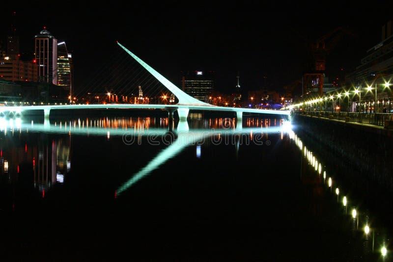 Puente de la Mujer foto de stock
