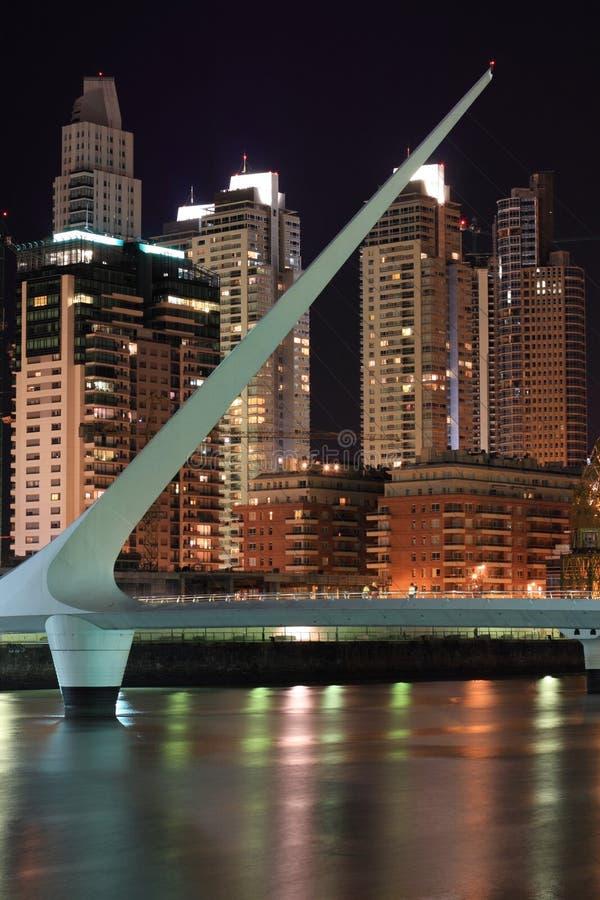 Puente De La Mujer Editorial Stock Photo