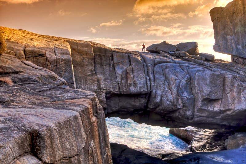 Puente de la naturaleza, Australia occidental. foto de archivo libre de regalías