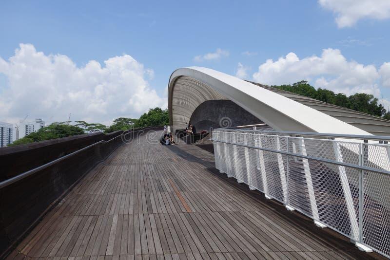 Puente de la onda de Singapur Henderson imagenes de archivo