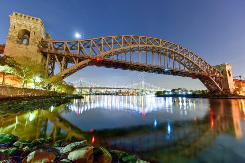 Puente de la puerta del infierno - New York City fotos de archivo libres de regalías