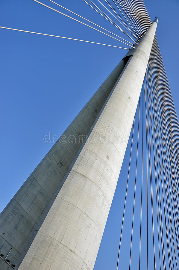 Download Puente De La Suspensión Bridge Imagen de archivo - Imagen de cruz, ingeniería: 41906663