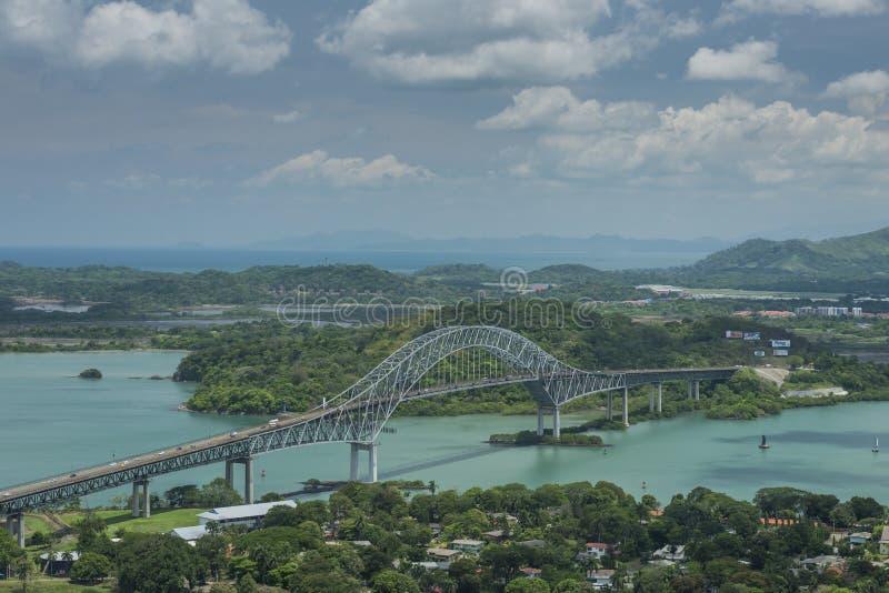 Puente de las Américas imagen de archivo