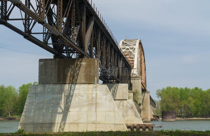 Puente de LaSalle Eail imagenes de archivo