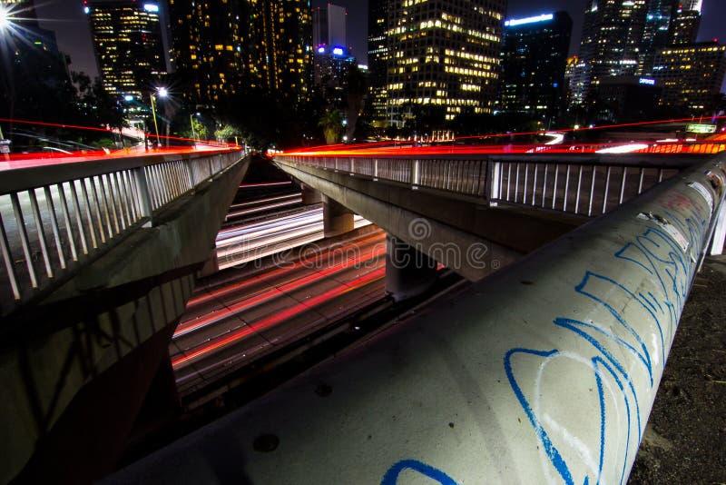 Puente de Los Ángeles fotografía de archivo libre de regalías