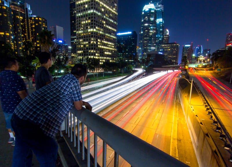 Puente de Los Ángeles fotos de archivo