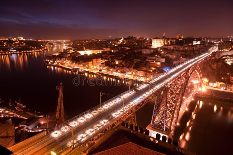 Puente de los Dom Luis imagen de archivo