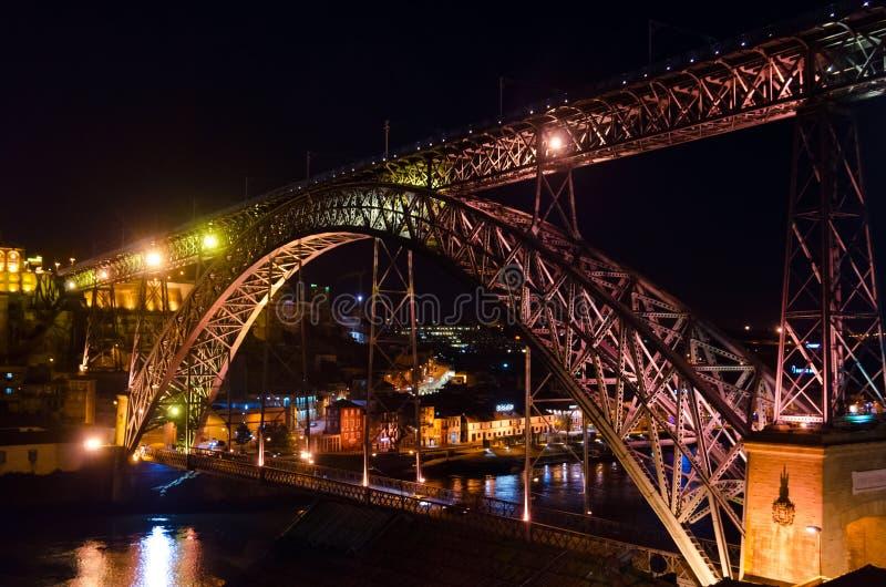 Puente de los Dom Luis I fotos de archivo