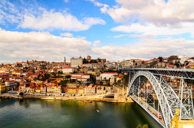 Puente de los Dom Luis I imágenes de archivo libres de regalías