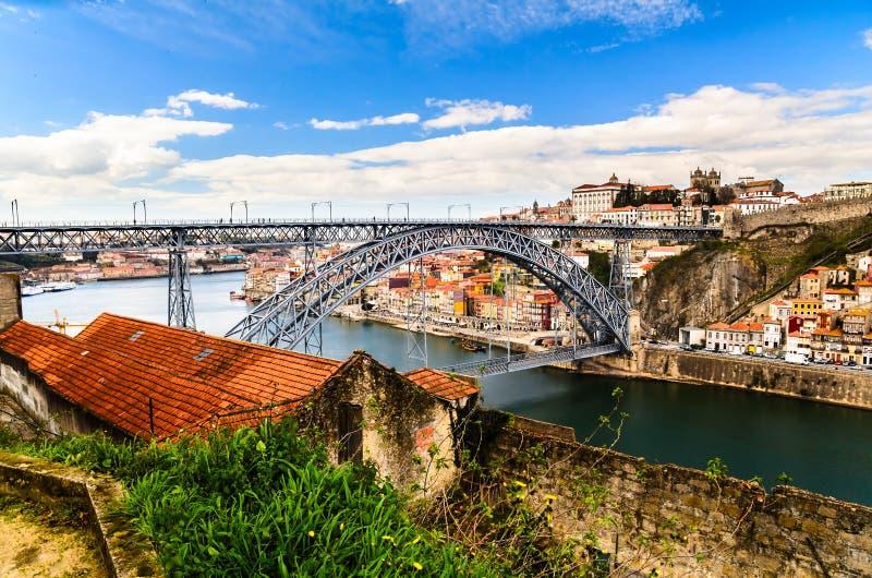 Puente de los Dom Luis I imagen de archivo libre de regalías