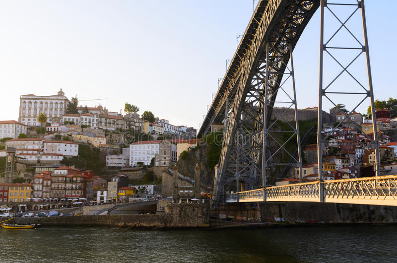 Puente de los Dom Luis I foto de archivo libre de regalías
