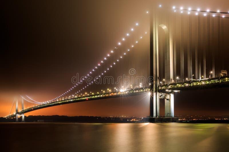 Puente de los Verrazano-estrechos imagenes de archivo