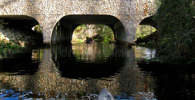 Puente de Loxahatchee foto de archivo