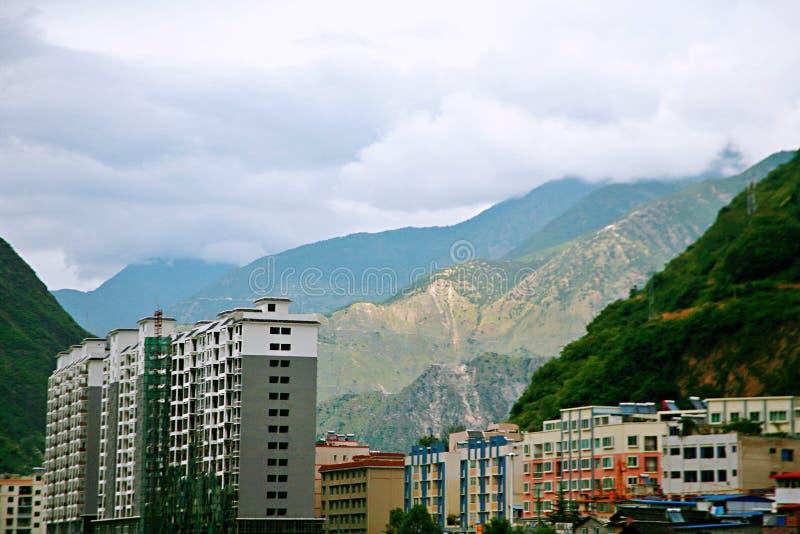 Puente de Luding en Sichuan foto de archivo libre de regalías