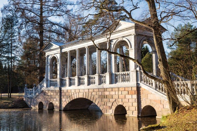 Puente de mármol fotografía de archivo libre de regalías