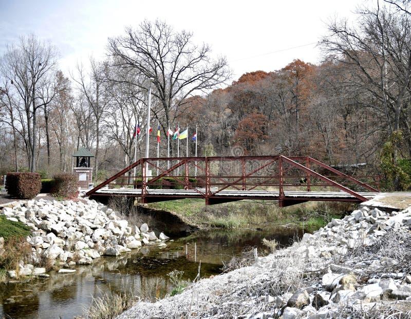 Puente de mármol de la cala fotografía de archivo libre de regalías
