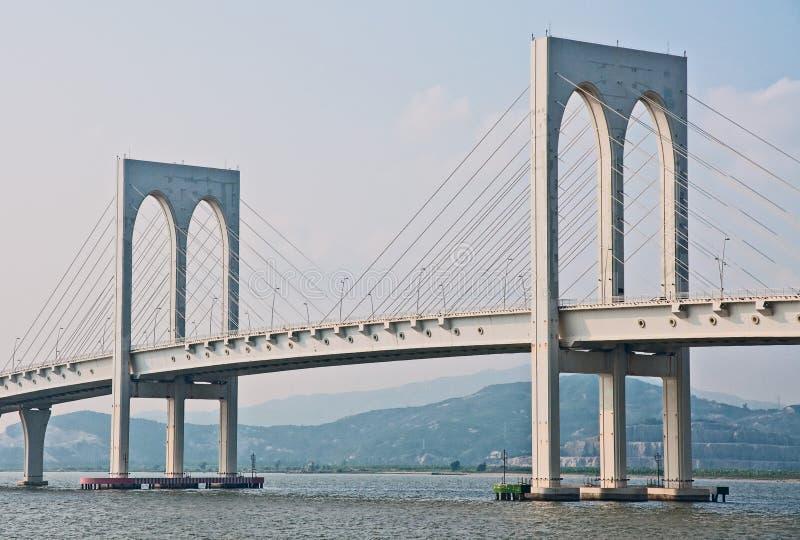 Puente de Macao imagen de archivo