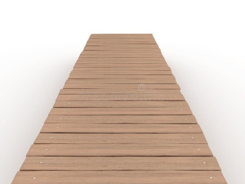 Puente de madera â1 libre illustration