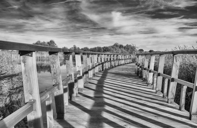 Puente de madera Rebecca 36 imagen de archivo libre de regalías
