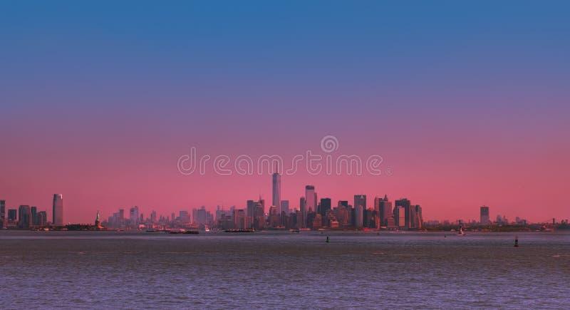 Puente de Manhattan y de Brooklyn imagen de archivo libre de regalías