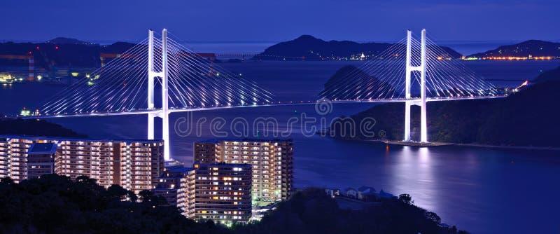Puente de Megami imagenes de archivo