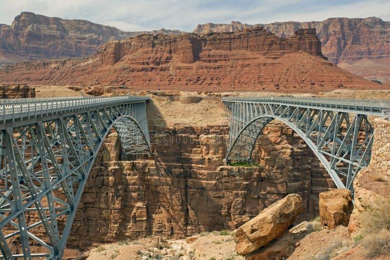 Puente de Navajo foto de archivo libre de regalías