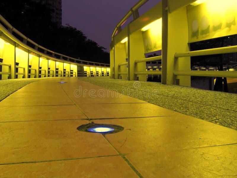 Puente de Night fotografía de archivo libre de regalías