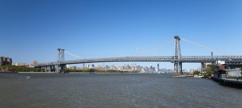 Puente de Nueva York Williamsburg imagen de archivo