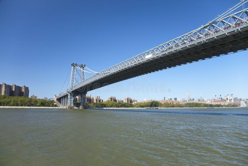 Puente de Nueva York Williamsburg imágenes de archivo libres de regalías