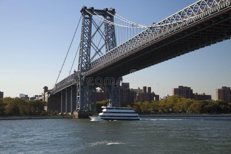 Puente de Nueva York Williamsburg foto de archivo libre de regalías