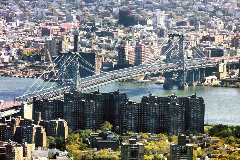 Puente de Nueva York Williamsburg foto de archivo