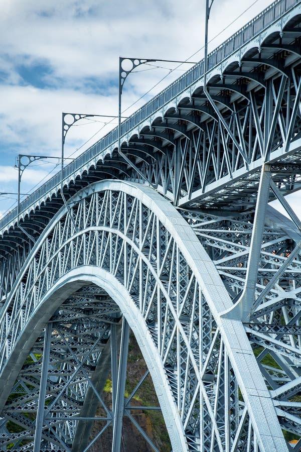 Puente de Oporto, Dom Luis fotografía de archivo libre de regalías