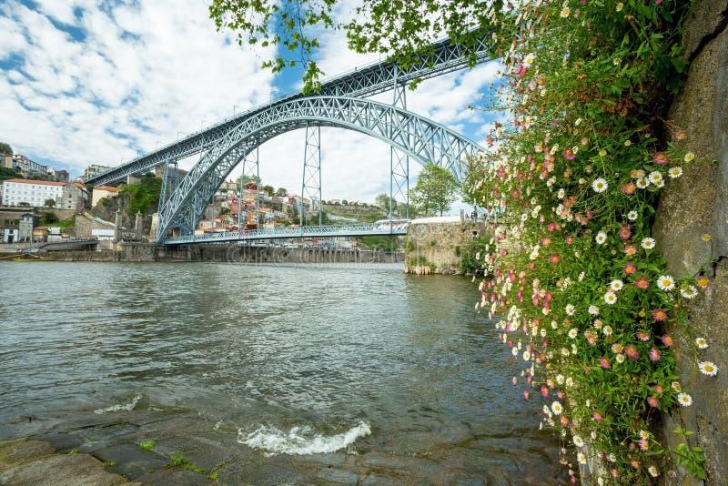 Puente de Oporto, Portugal fotos de archivo