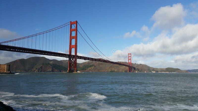 Puente de oro de la bahía imágenes de archivo libres de regalías