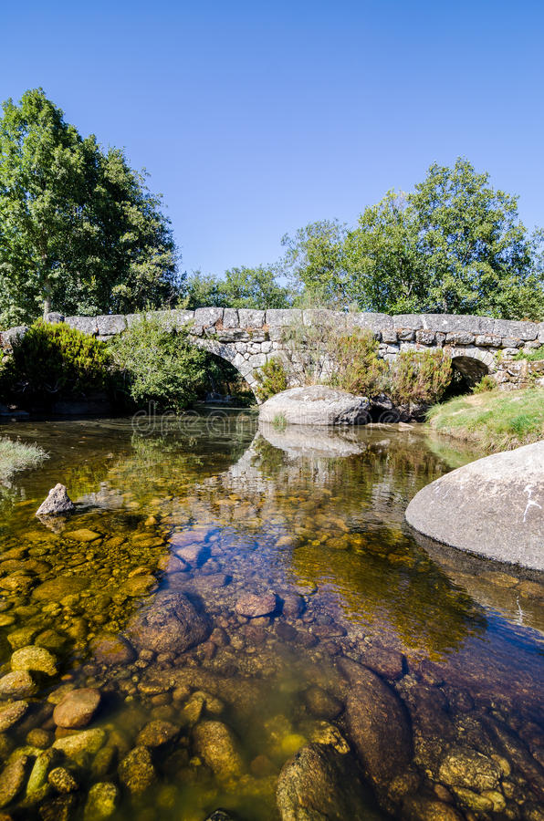 Puente de Panchorra imagen de archivo libre de regalías