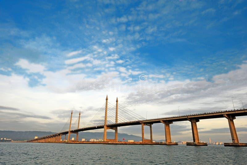 Puente de Penang imagen de archivo