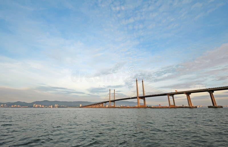 Puente de Penang foto de archivo libre de regalías