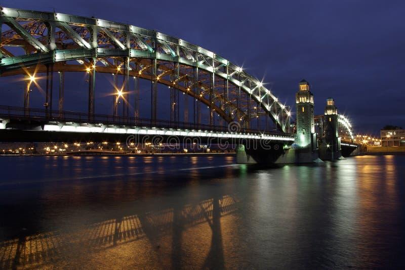 Puente de Peter grande foto de archivo