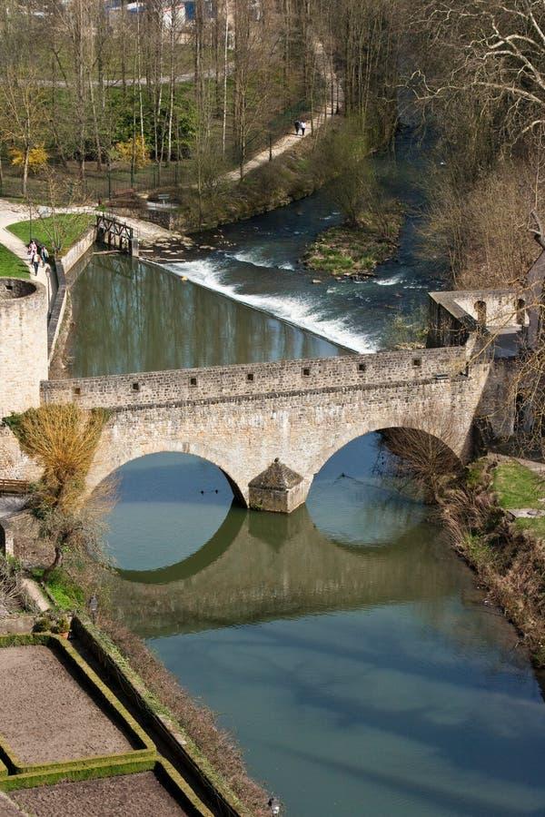 Puente de piedra imágenes de archivo libres de regalías