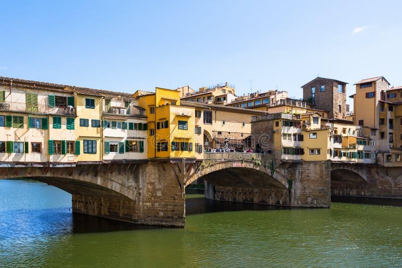 Puente de Ponte Vecchio imagen de archivo libre de regalías