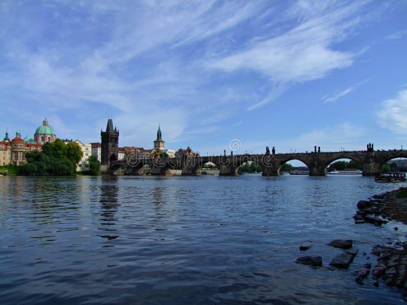 Puente de Praga - de Charles fotografía de archivo libre de regalías