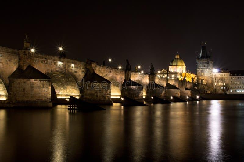 Puente de Praga - de Charles foto de archivo libre de regalías