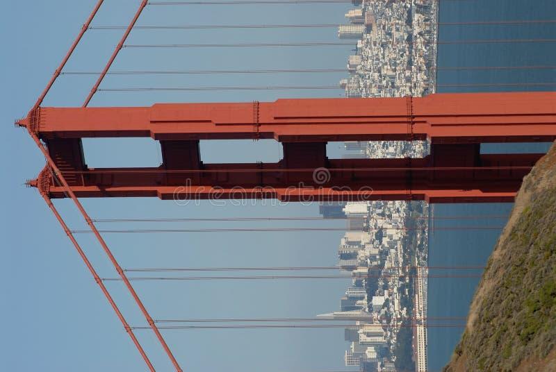 Puente de puerta de oro fotos de archivo