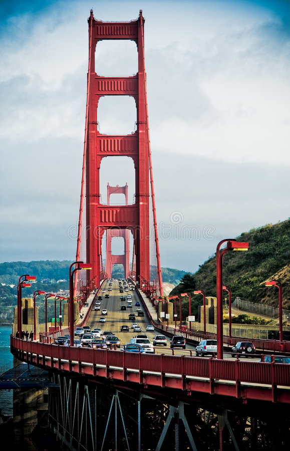 Puente de puerta de oro imagen de archivo libre de regalías